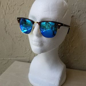 Ray-Ban Clubmaster Remix - Tortoise & Blue Flash